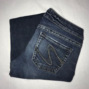 Silver Tuesday Bootcut Stretch Jeans 31 34